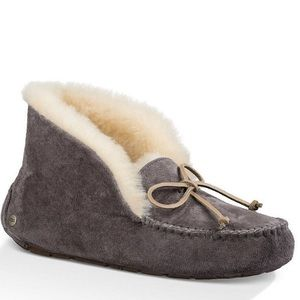 NEW in box UGG Alena Waterproof Suede Slippers